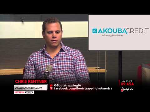 Chris Rentner of Akouba Credit | Bootstrapping in America