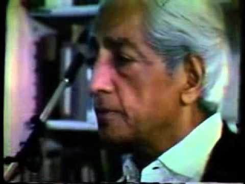 Krishnamurti - Can You Live That Way?