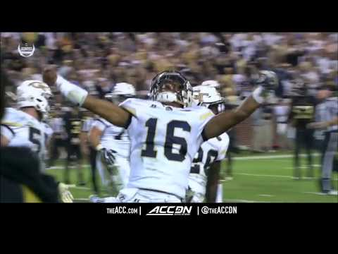 Wake Forest vs Georgia Tech College Football Condensed Game 2017