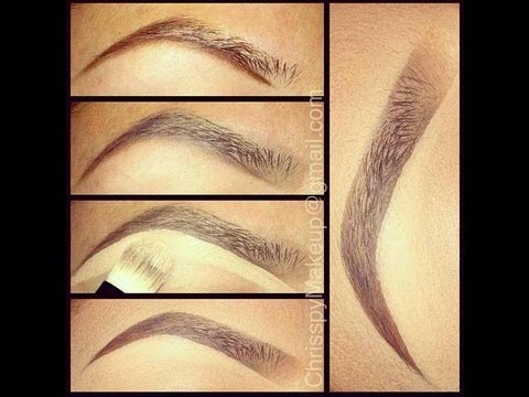 Dramatic eyebrow tutorial (carved brow) youtube.