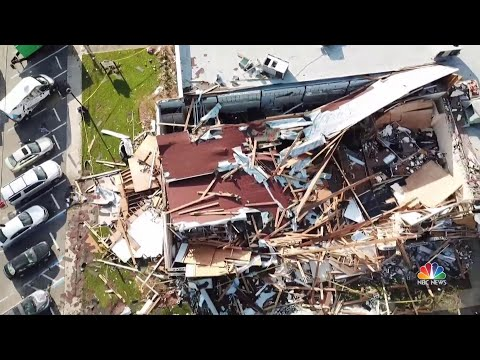Lynn Haven, Fla. Comes Together After Being Devastated By Hurricane Michael | NBC Nightly News