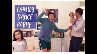 THIS FAMILY NEVER STOPS DANCING!!