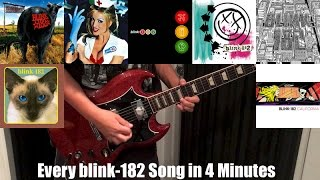 Every Blink-182 Song in 4 Minutes