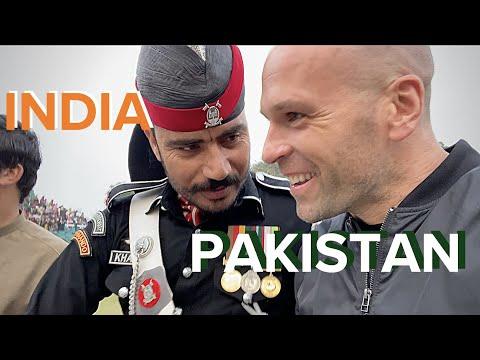 india/pakistan-|-world's-most-unusual-border-🇮🇳🇵🇰