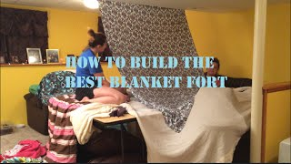 How To Build The Best Blanket Fort! | The Invisible Wall