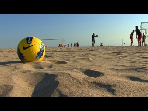 U.S. Prepares for FIFA Beach Soccer World Cup