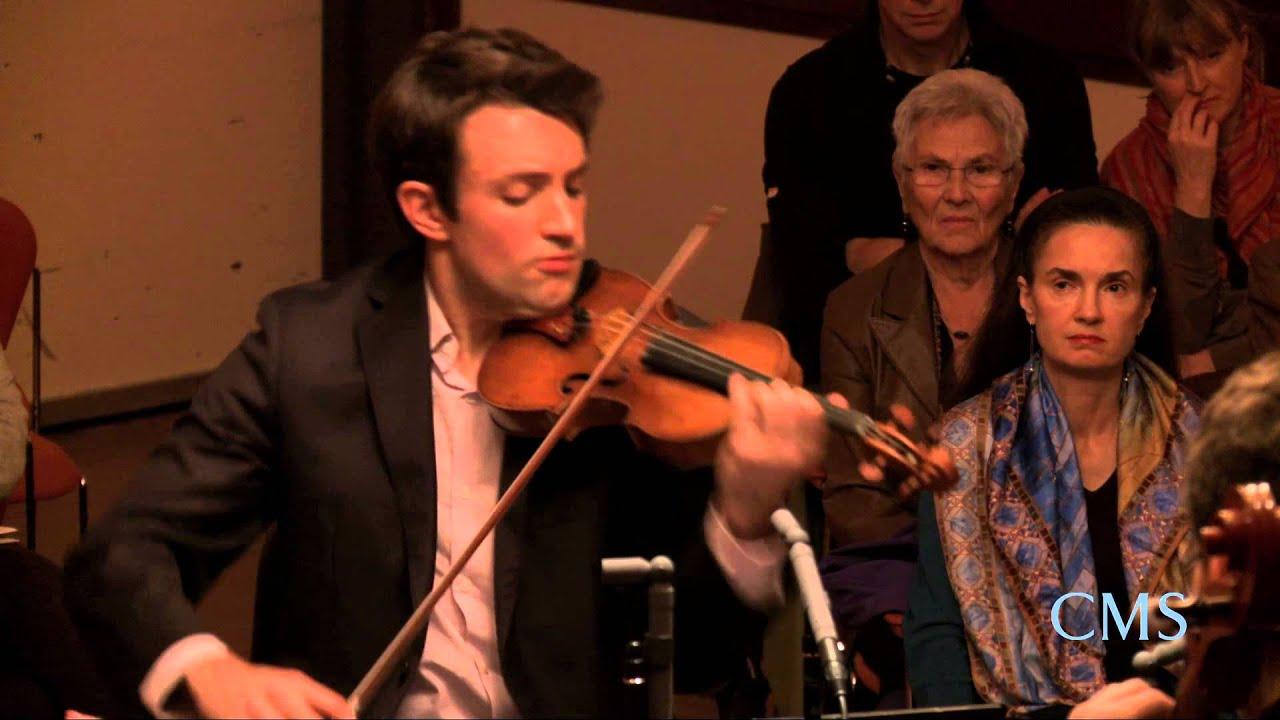 Beethoven - Quartet in A minor for Strings, Op.132, Mvt 1 - Escher String Quartet - CMS