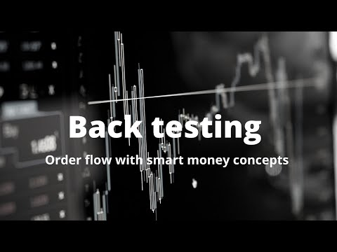 Must watch Backtesting order flow with SM concepts