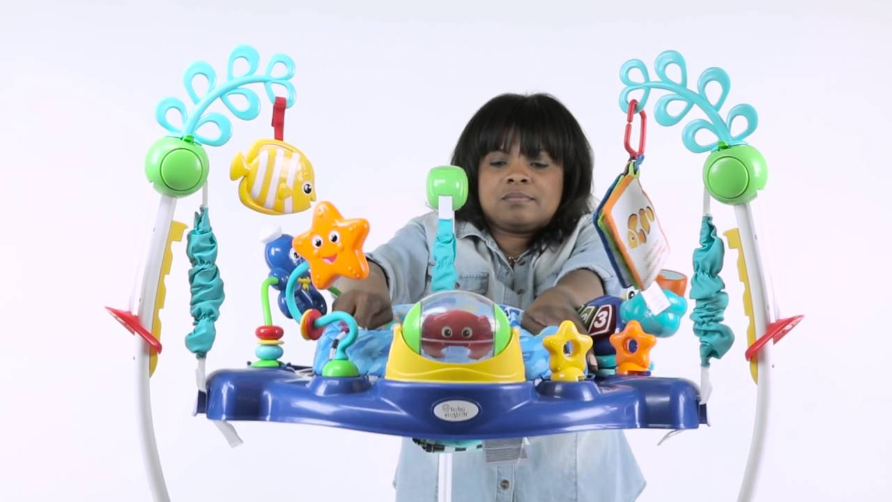f54bab274795 Baby Einstein Assembling the Ocean Discovery Jumper™ - YouTube