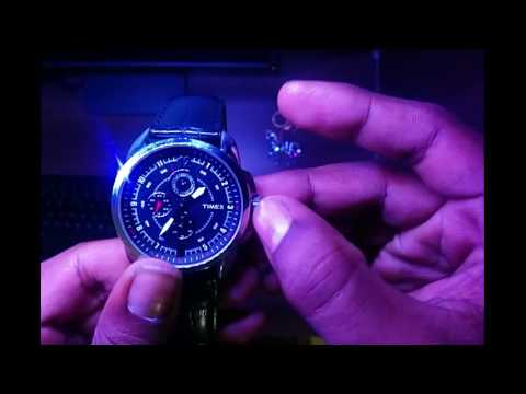 guess chronograph watch instructions