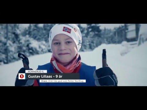 Små og store skihelter gleder seg til skisprinten