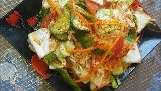 Пикантный салат из овощей