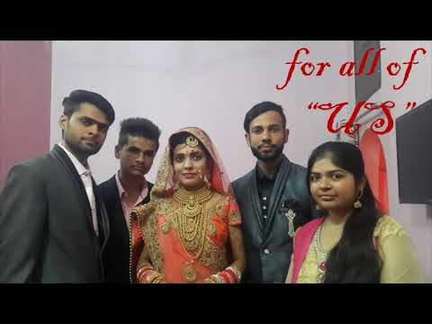 Happy anniversary di and jiju ! congratulations on your 1st wedding