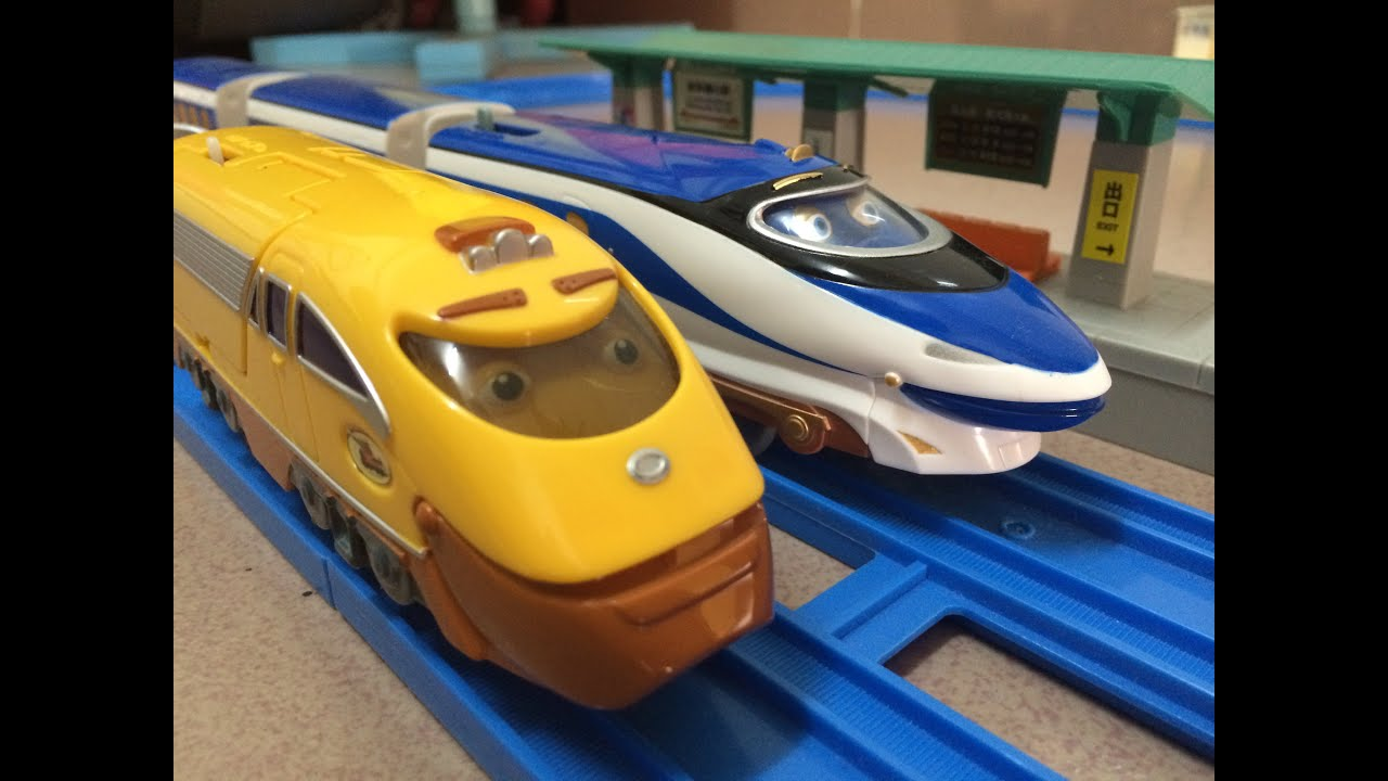 01828 Chuggington Action Chugger vs Hanzo (00004) - YouTube