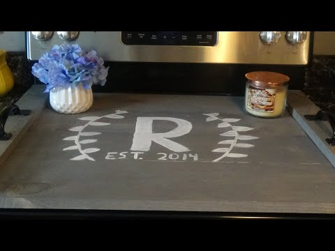 DIY-Wooden Stove Cover