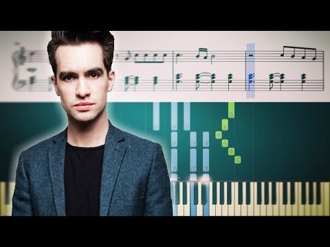 ROARING 20S (Panic! At The Disco) - ADVANCED Piano Tutorial + SHEETS