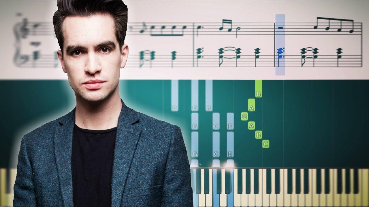 Roaring 20s Panic At The Disco Advanced Piano Tutorial Sheets