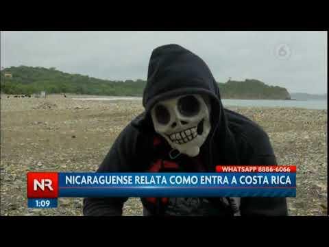 Nicaraguense relata cómo entra a Costa Rica