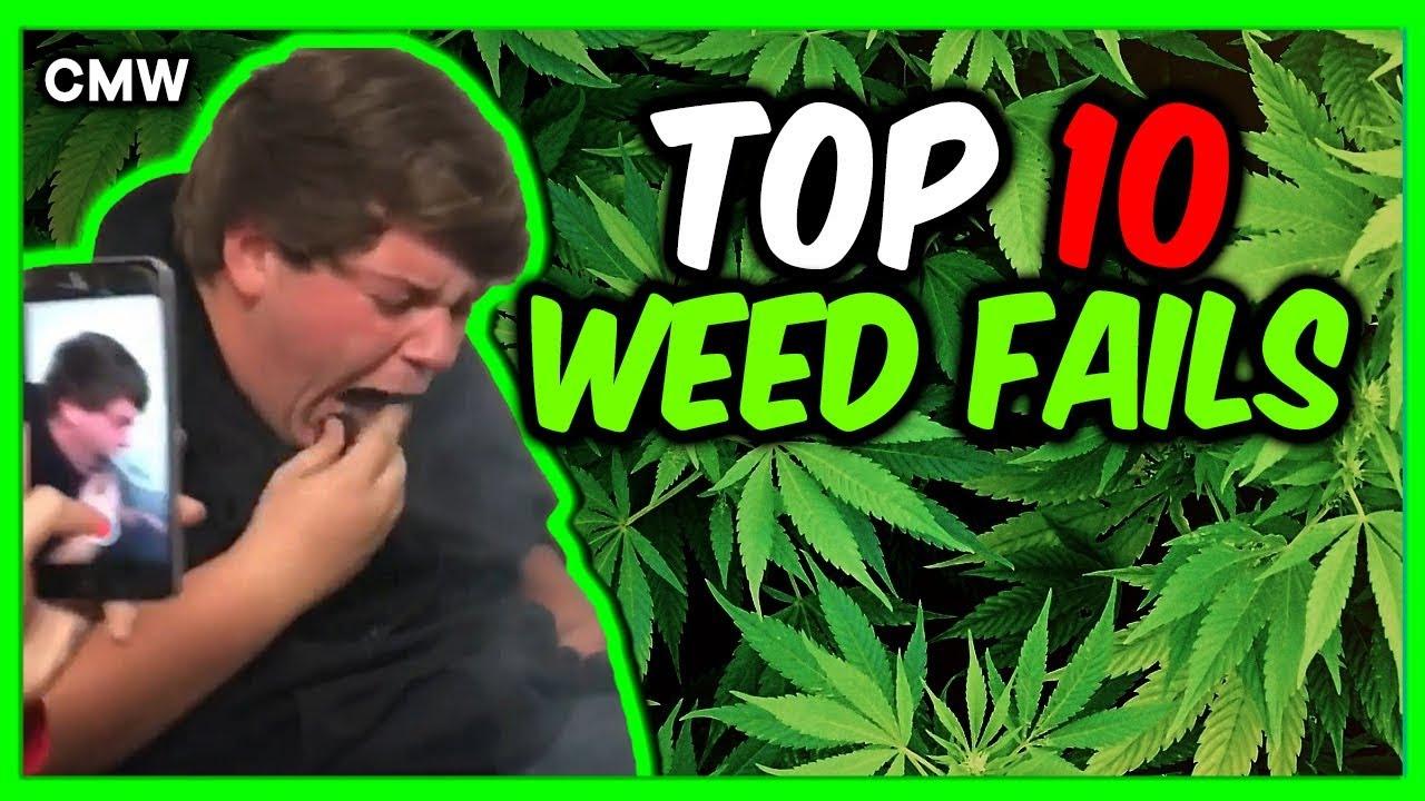 Top 10 Smoking Weed Fails #5 | CMW