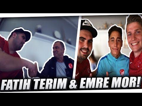 DAS TREFFEN MIT EMRE MOR & DAS INTERVIEW MIT FATIH TERIM!⚽ EMRE MOR TRANSFER? | PMTV