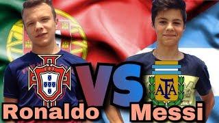 Португалия VS Аргентина|Ronaldo VS Messi