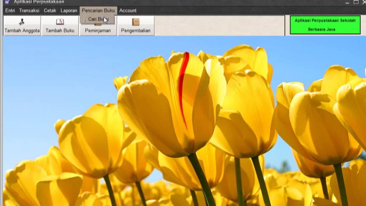 Tutorial Aplikasi Perpustakaan Java Netbeans - Java