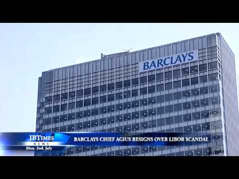 Barclays chief Agius resigns over Libor scandal