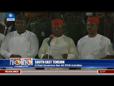 South East Governors Ban All IPOB Activities