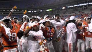 Tigers sing Alma Mater after winning ACC Championship