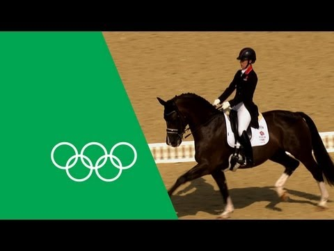 Charlotte Dujardin's Emotional Olympic Gold | Olympic Rewind