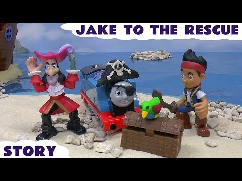 Jake To The Rescue Pirate Play Doh Thomas and Friends Toy Story Disney Neverland Pirates Play-doh