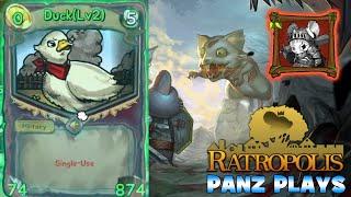 Panz Plays Ratropolis - General: The Swol Duck