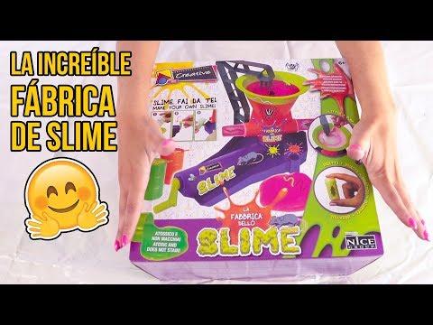 LA INCREÍBLE FÁBRICA DE SLIMES - Juguetes para niños
