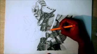 Speed Art - The Samurai (47 Ronin)