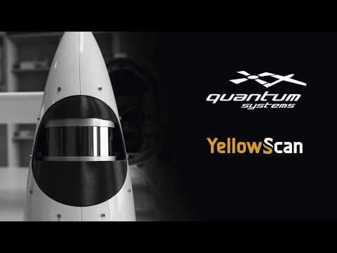 Quantum Systems/YellowScan - LIDAR integration
