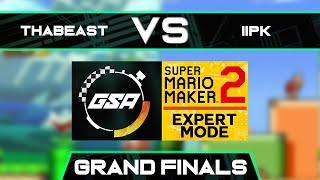Thabeast721 vs iiPK   Grand Finals   GSA SMM2 Expert Mode Speedrun League Playoffs Season 3