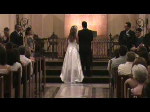 Casamento Alexandre Meyer  e Andreza (Igreja no altar )15