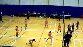 2011-2012年度全港學界精英排球比賽 — 女子組冠軍賽