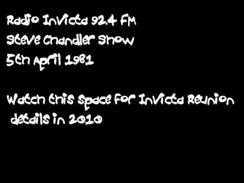 Radio Invicta 92.4 Steve Chandler 5th April 1981 show
