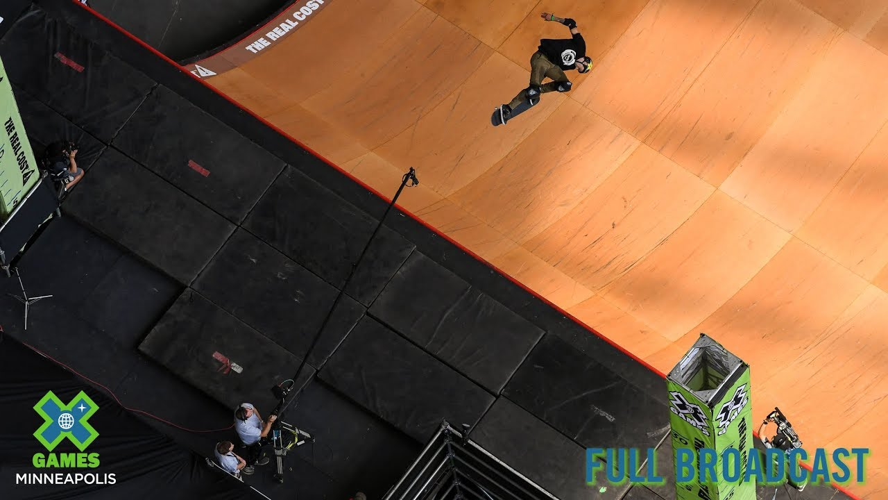 The Real Cost Skateboard Big Air: FULL BROADCAST | X Games Minneapolis 2019