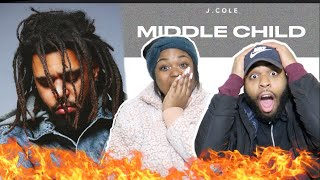 ‪J. COLE THROWING SHOTS!! 😳🔥 | J. Cole - Middle Child (Official Audio)| REACTION!!‬