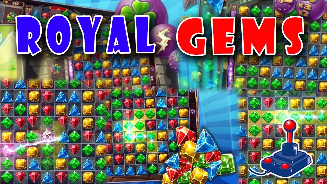 Royal Gems Puzzle Games Freegamepick Youtube
