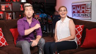 """You Deserve A Drink"" Mamrie Hart & Lance Bass Are All Fun & Games - AMAs OD 2014 Episode 02"