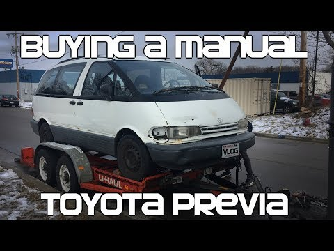 Buying A Manual Toyota Previa