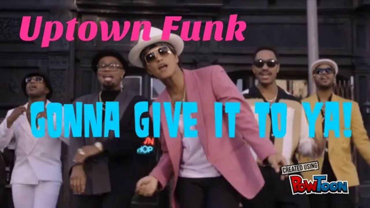 Bruno Mars Song Lyrics - Mark Ronson's Uptown Funk ft. Bruno Mars