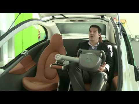 Hiriko, la voiture 100 % électrique et... pliable