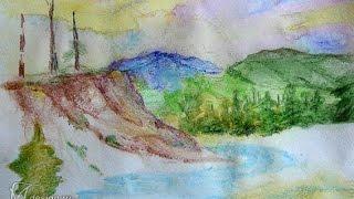 Рисую лес карандашом!(В этом видео я буду рисовать Лес карандашом., 2016-04-19T13:56:29.000Z)
