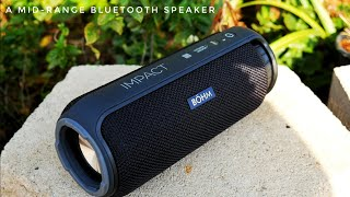 A Great Midrange 24watt Bluetooth Speaker | Bohm Impact Review