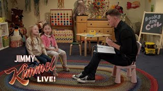 Guest Host Channing Tatum Asks Kids for Advice