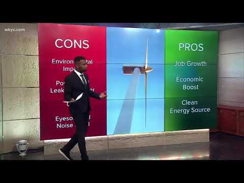 What are the pros and cons of proposed wind turbine facility